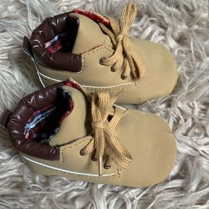 """Other - Baby Boys High Top """"Work"""" Boots"""